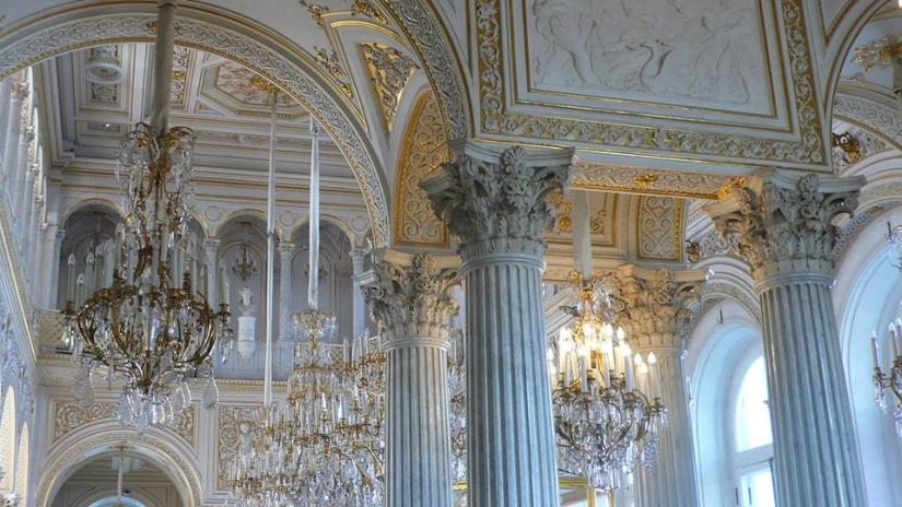 San Pietroburgo (Russia) - Interno dell'Ermitage