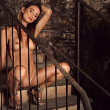 sarah genova foto nuda per playboy