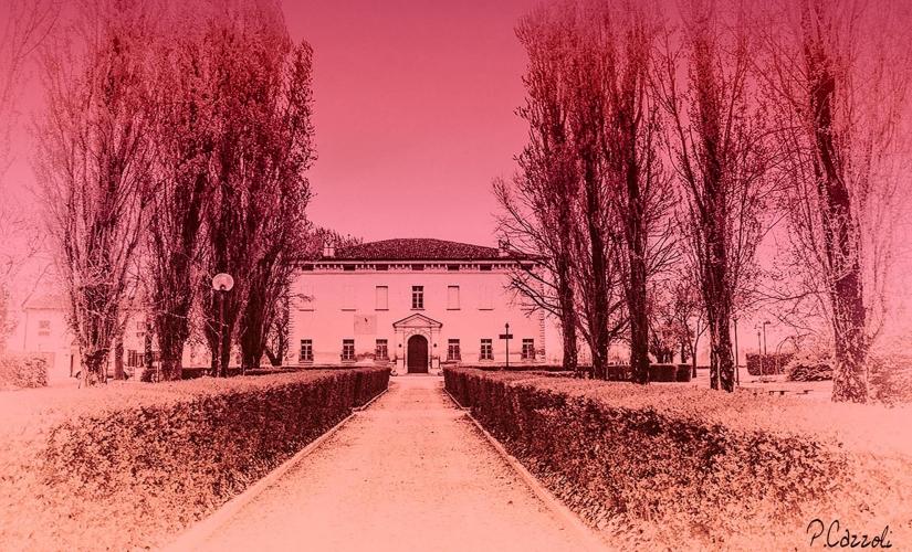 Scorcio di Villa Balestra