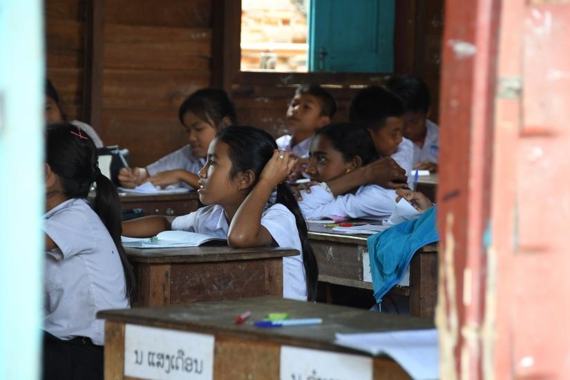 Scuola in Laos