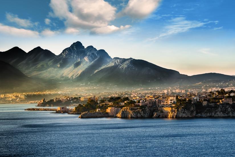Seascape in Sicily (Italy)