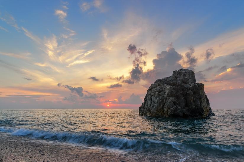 Sfumature al tramonto