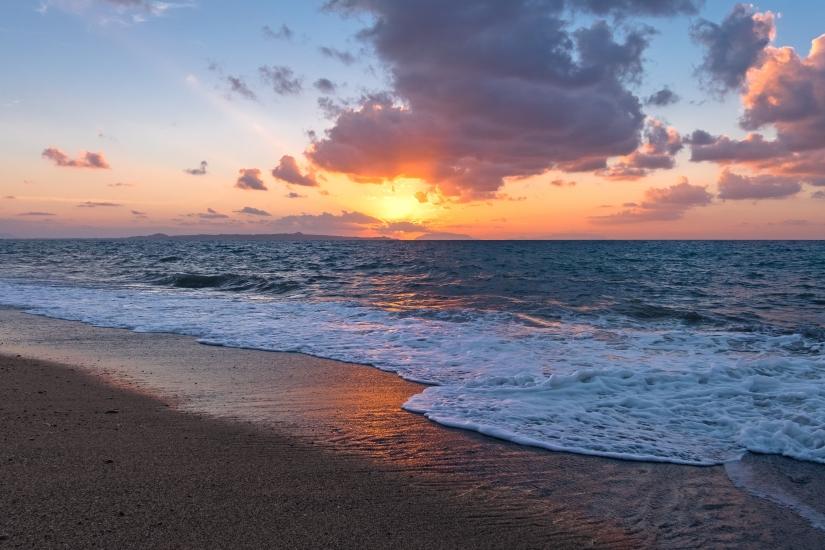 Sicily Simple Sunset