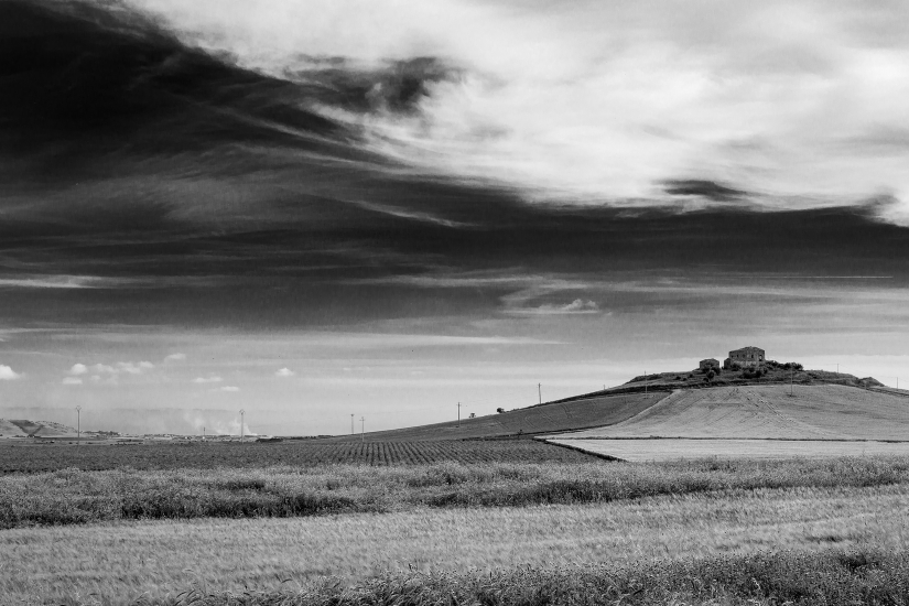 Sicily - inusual landscape