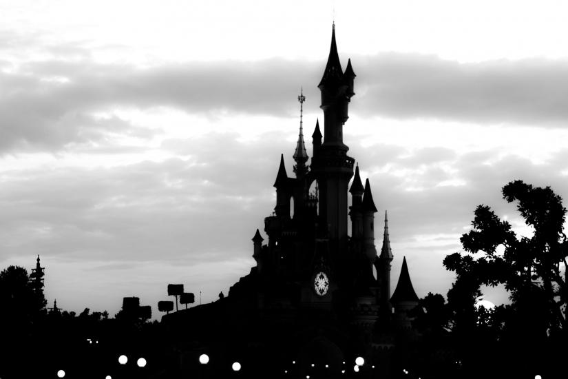 Silhouette DisneyCastle