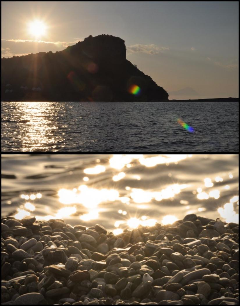 Sole (Esercizio a tema: collage)
