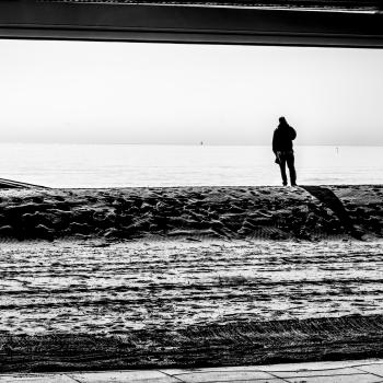 Solitario all'orizzonte