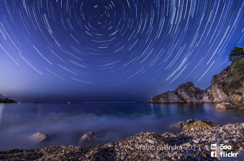 Some stars, some sea
