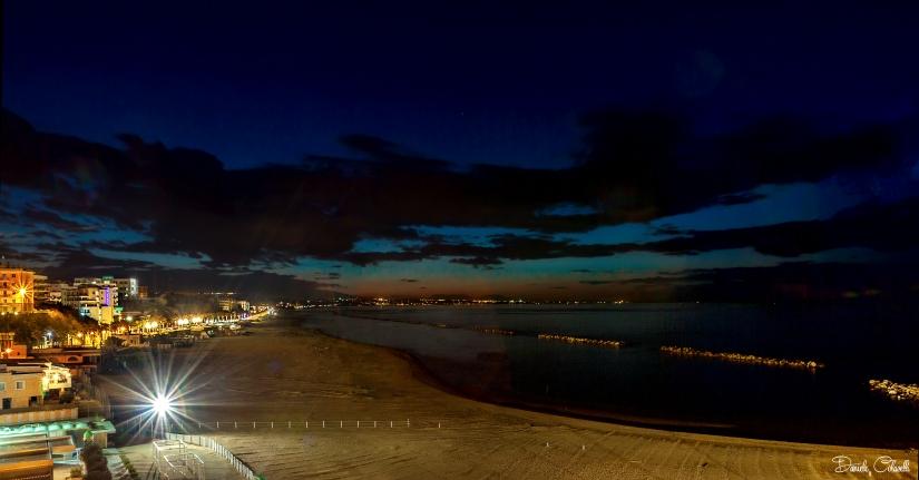 Spiaggia di Termoli di sera