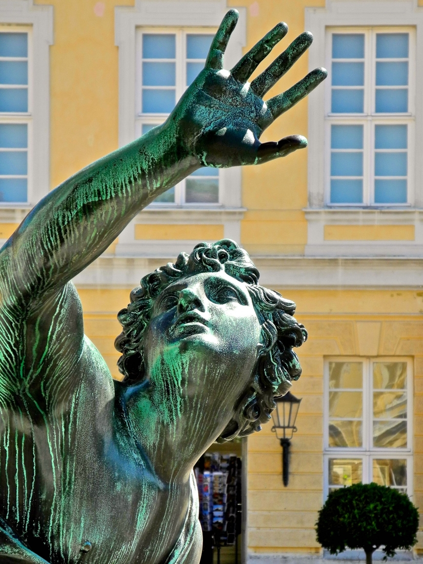 Statua in bronzo a Charlottenburg