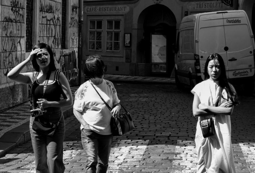 Street..Praha...