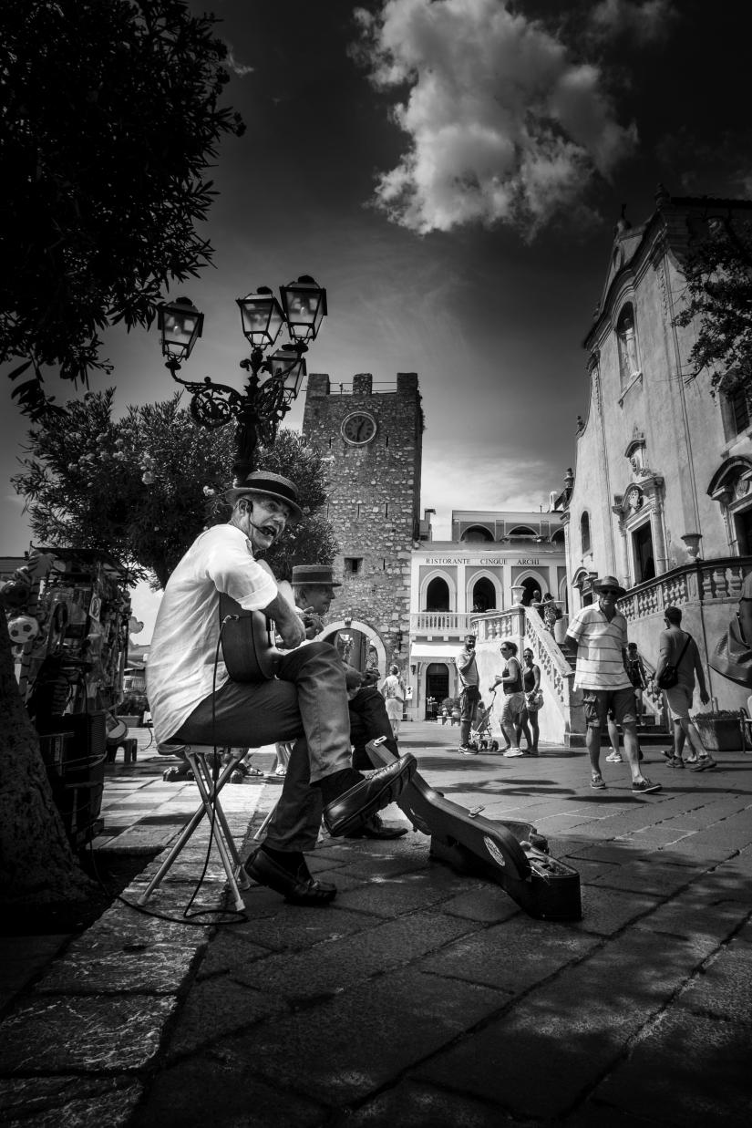 Street a Taormina