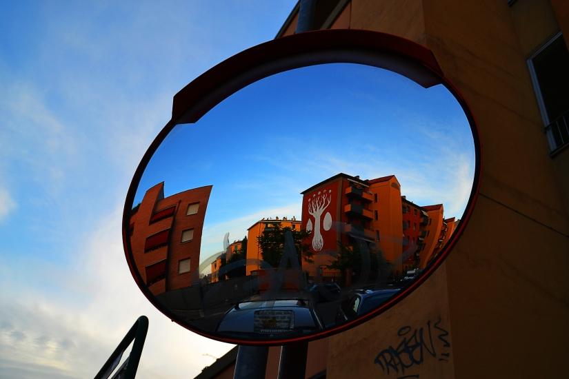 Street Art allo specchio