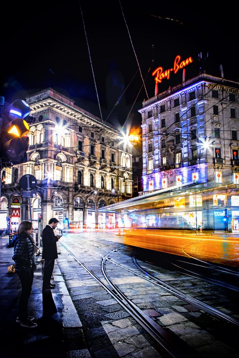 Street life  - Milano.