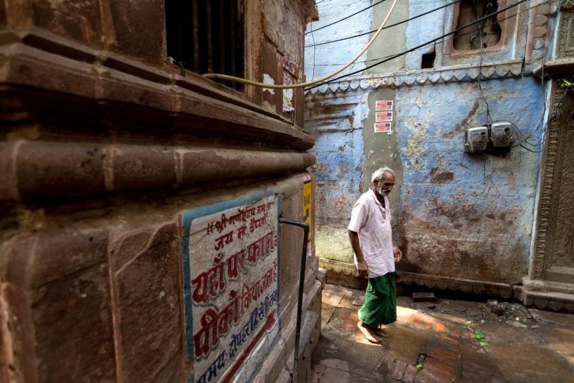 Street of Varanasi , India