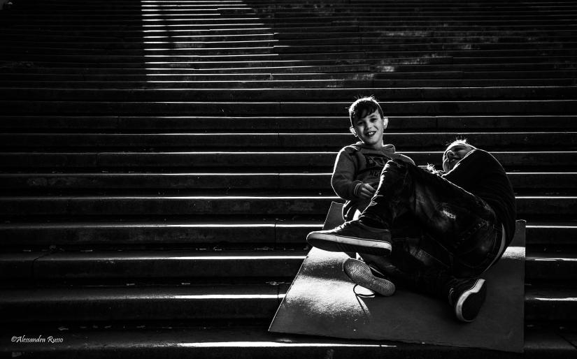 Street Photography - Amici per gioco