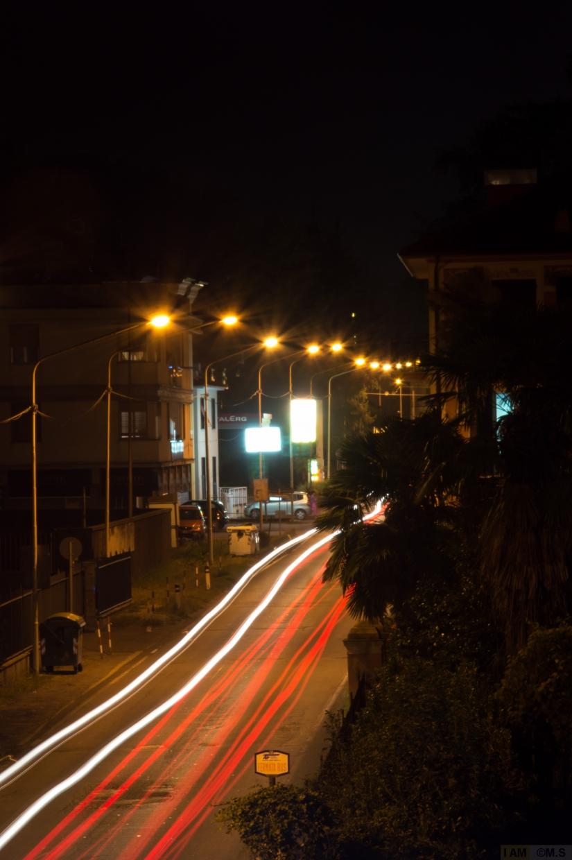 Strisce luminose