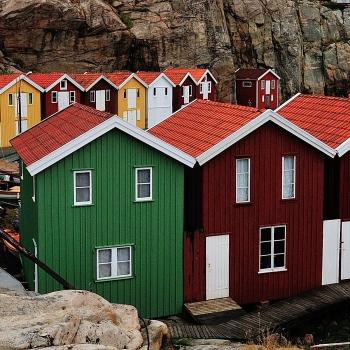 Stromstad, case dei pescatori