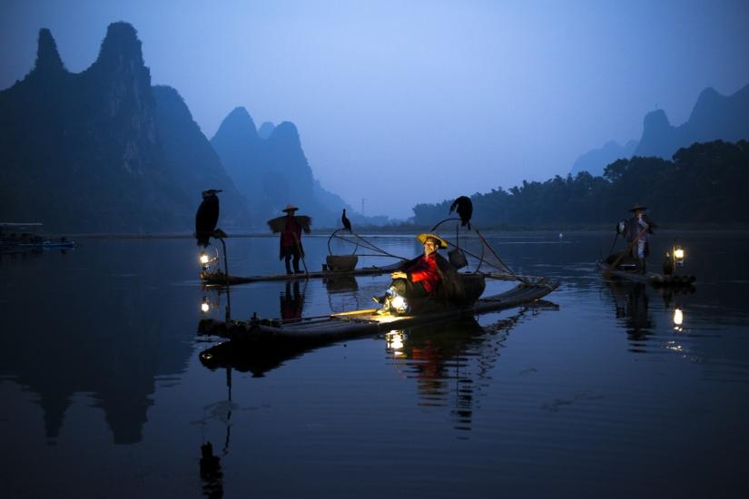 Sul fiume Li