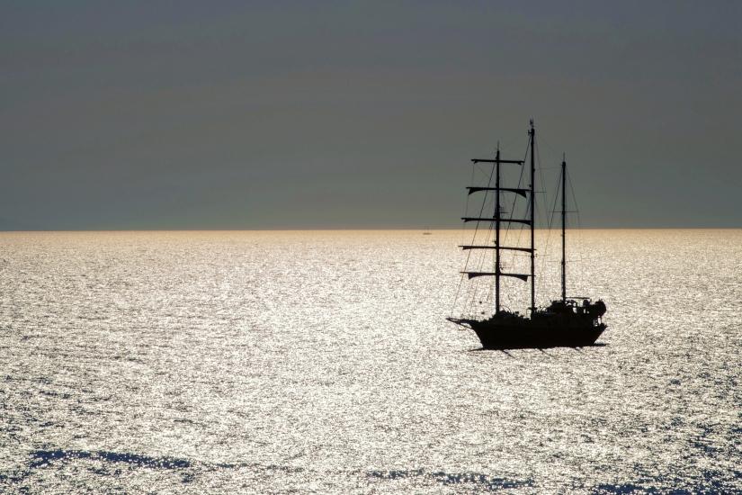 Sul mare luccica