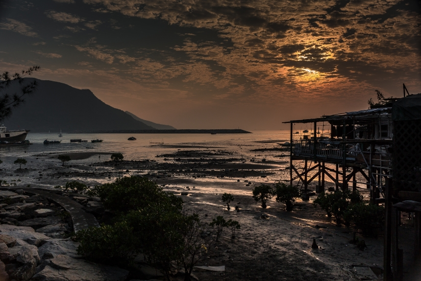 Sunset in Tai o