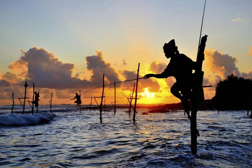 The Stilt Fisherman