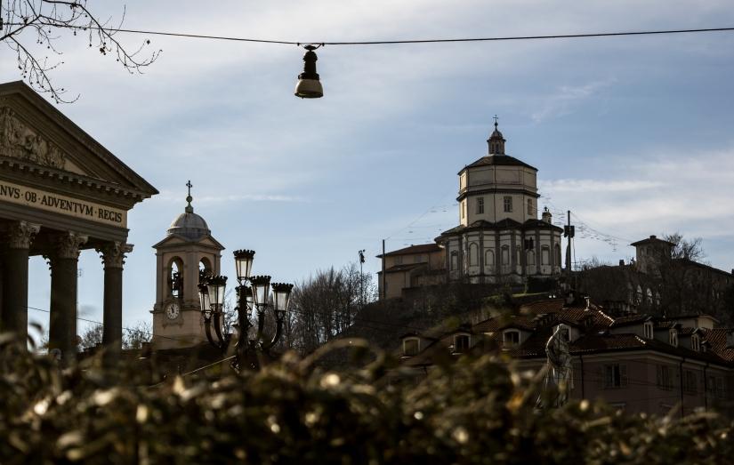 Torino, il Monte dei Cappuccini