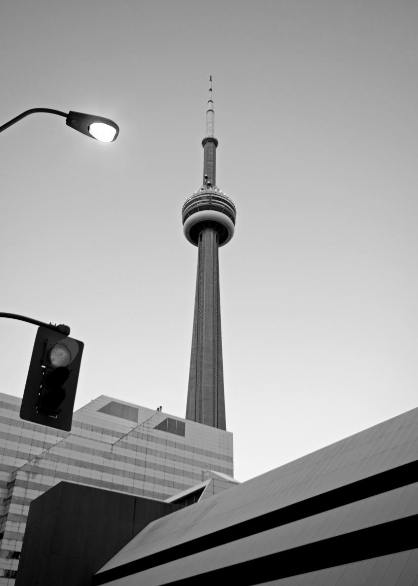 Toronto in bianco e nero