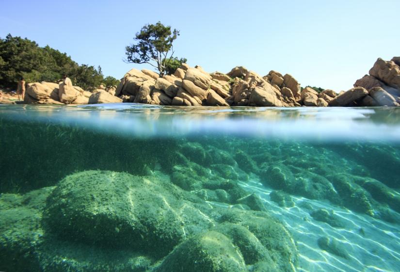 Tra acqua e cielo in costa Smeralda