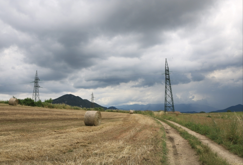 Tra i campi