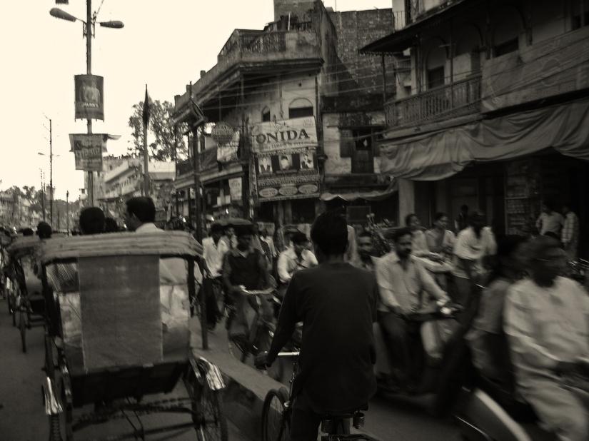 Traffico a Varanasi