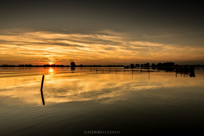 Ultime luci in Laguna Veneta