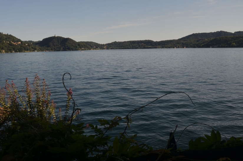 Ultime luci sul Lago