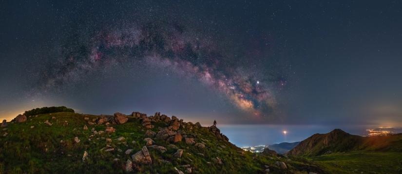 Un arco di stelle
