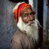 Un sadhu a Varanasi
