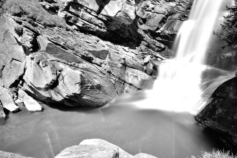 Un velo d'acqua