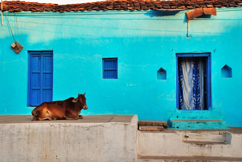Una casa indiana.