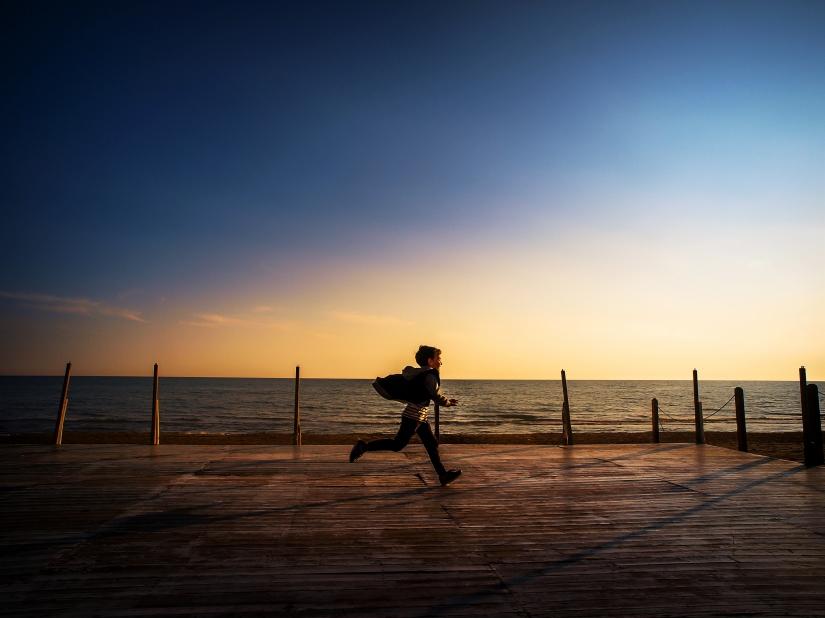 Una corsa al mare