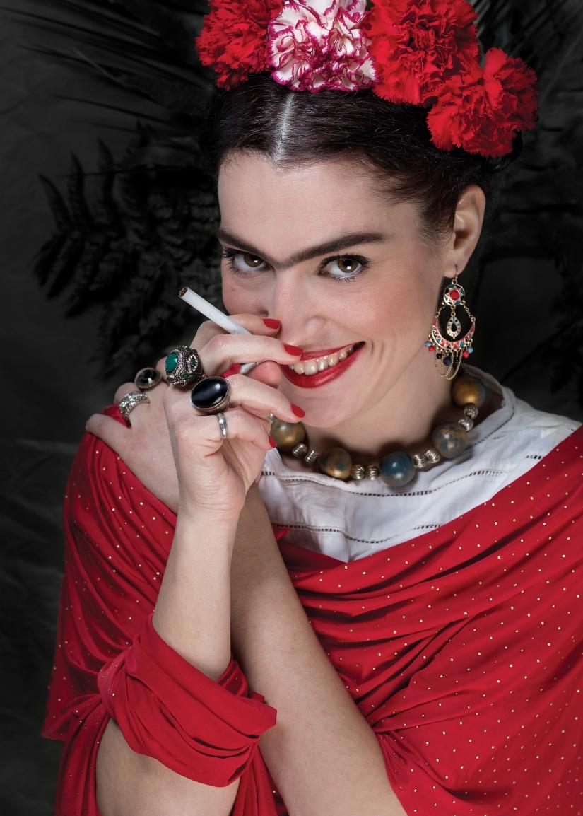 Una Donna allo specchio – Magdalena Carmen Frida Kahloy Calderòn