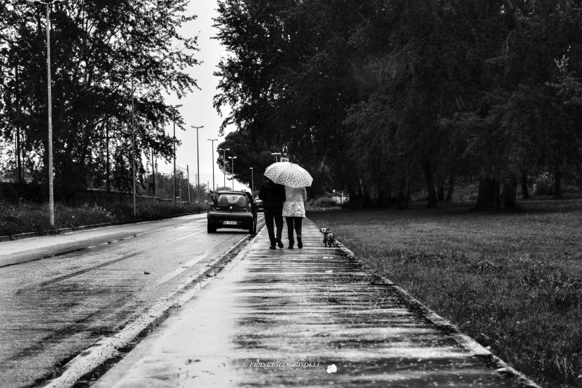 Una giornata di pioggia di Aprile