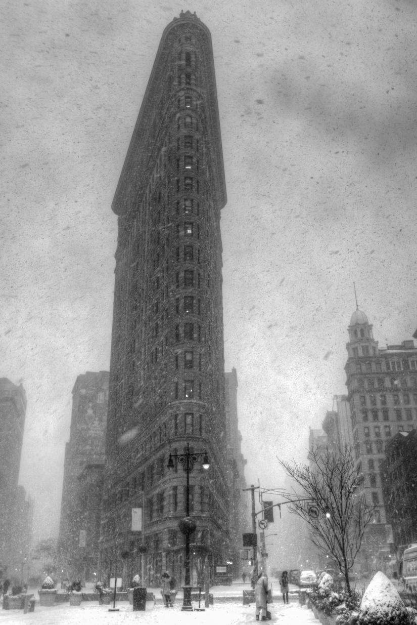 Una particolare mattina di gennaio a New York