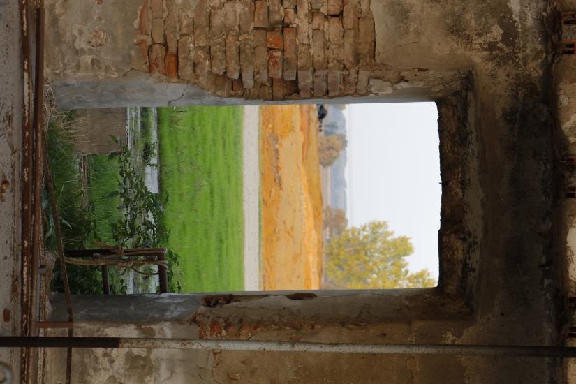 Una porta verso la campagna