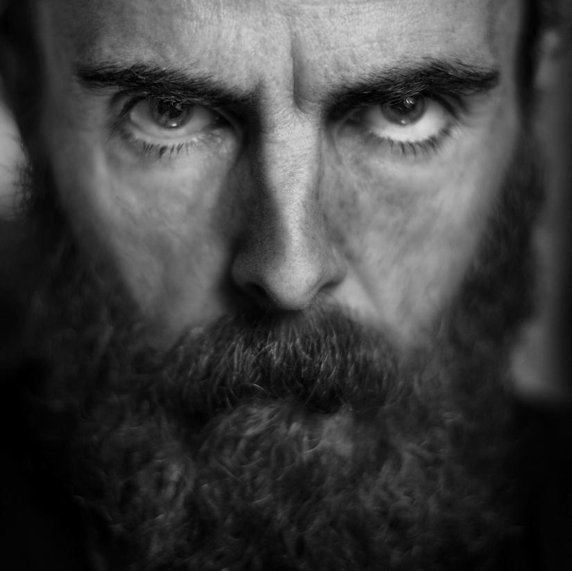 Uomo di barba