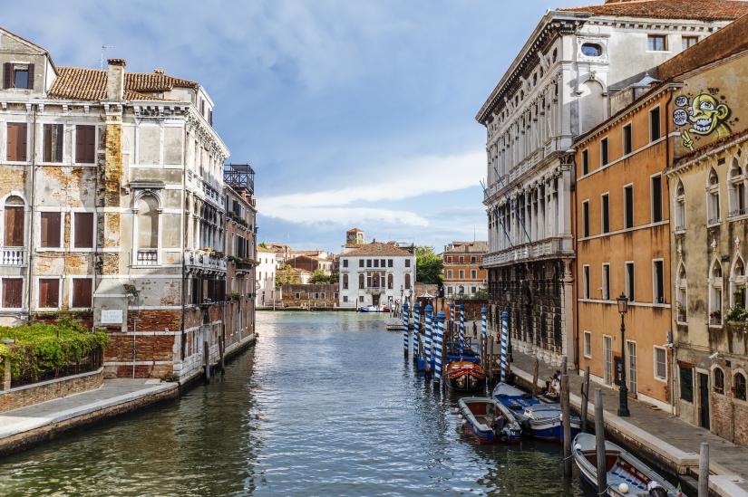 Urban Rebels Venezia, vista dal ponte delle Guglie