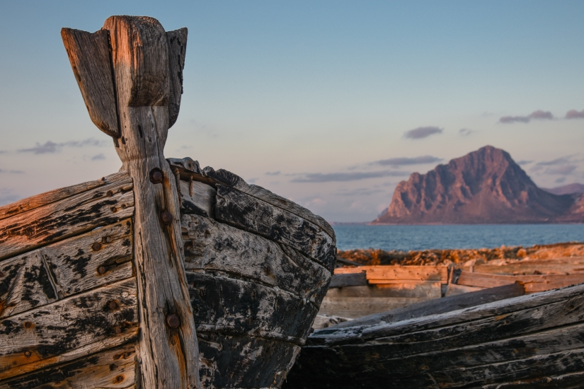 Vecchia barca di tonnara