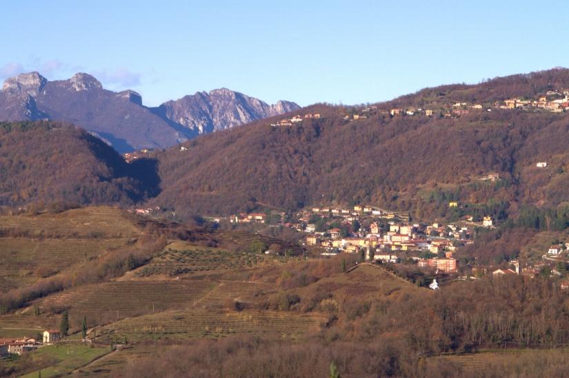 Veduta da Montevecchia