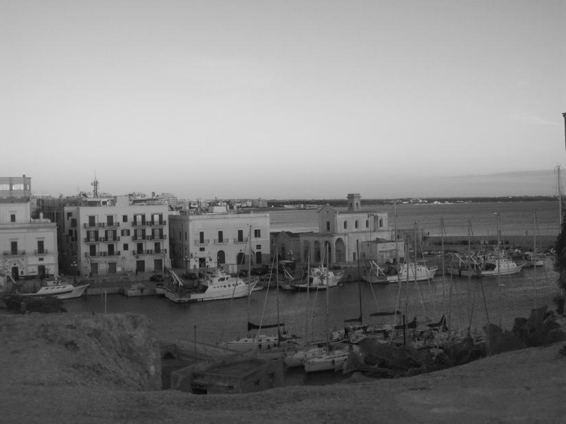 Veduta dal castello di Gallipoli