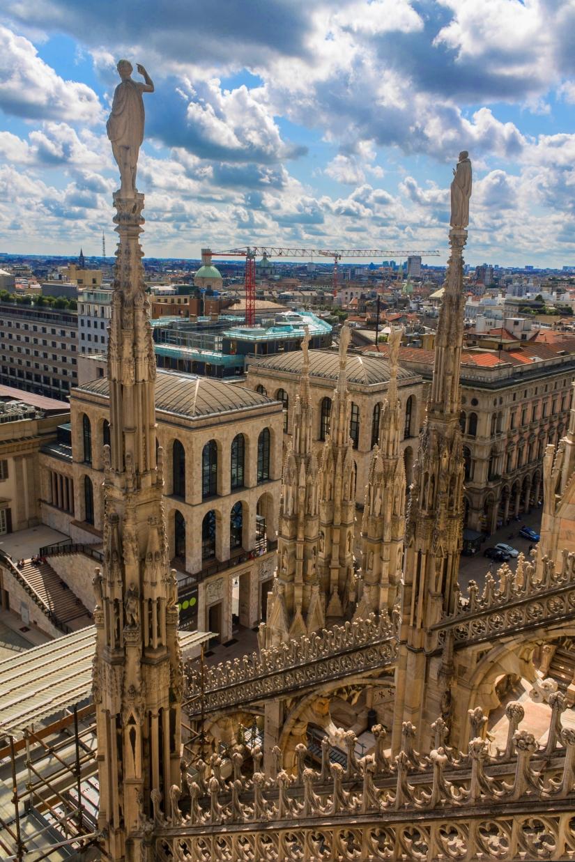 Veduta dal Duomo