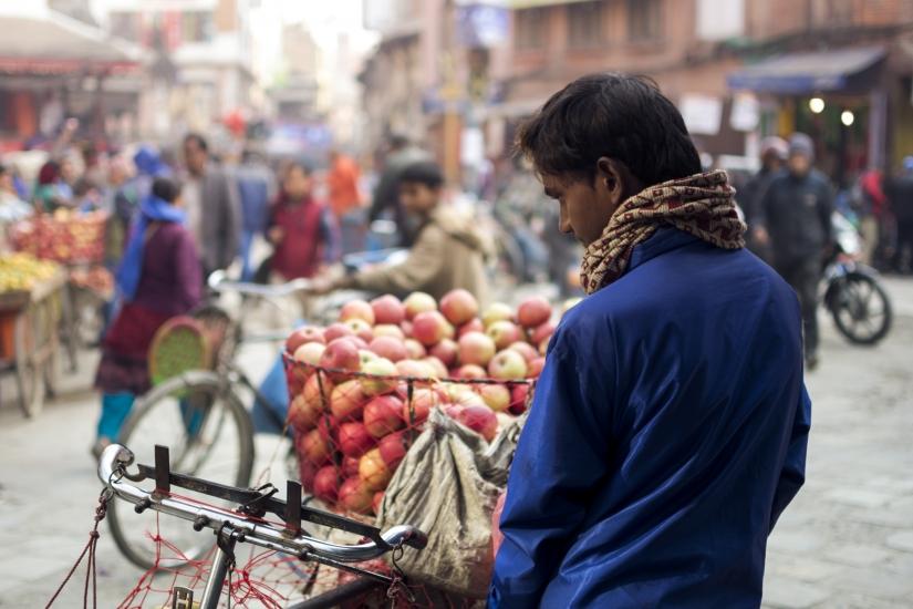 Venditore di frutta