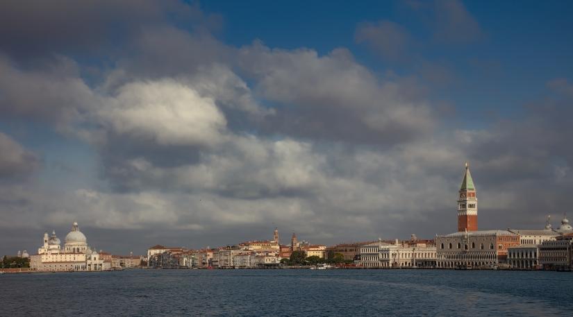 Venezia , il bacino di San Marco